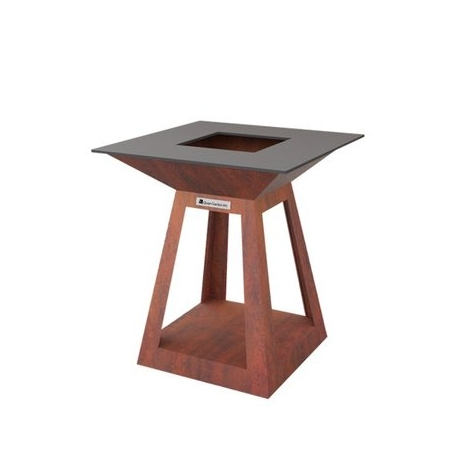 Quan Quadro Air Mini Corten 80x80 cm