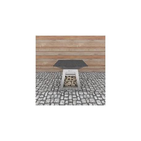 Quan Rondo Table Silver 100x100 cm